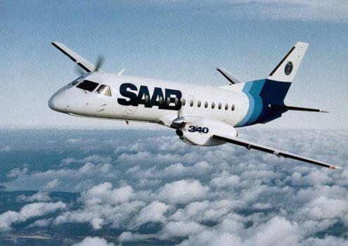 Saab 340 Turboprop. 340 Saab Turbo-prop
