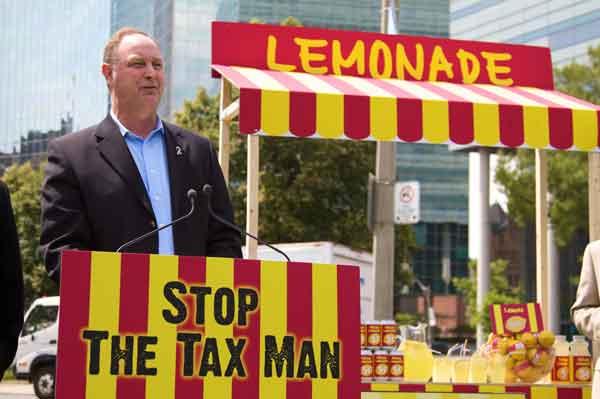 Ontario PCs Lemonade Stand