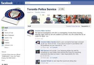Toronto Police Service Facebook