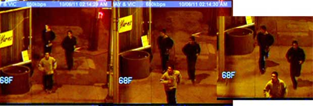 Eye in the Sky Images - Macs Robbery