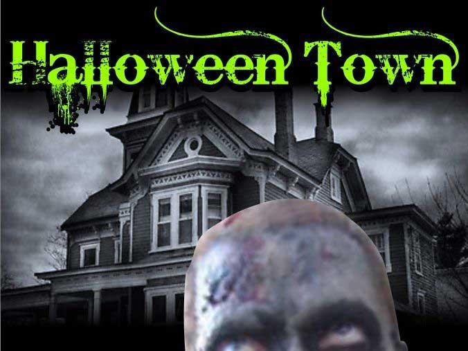 Thunder Bay's newest haunted theme walk...Halloween Town!