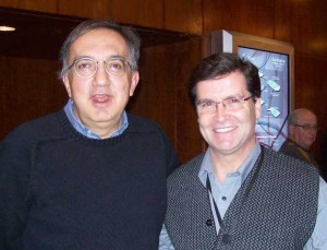 Sergio Marchionne and Frank Pullia