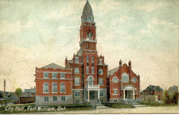 Fort William City Hall in 1907
