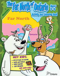Far North Colouring Book