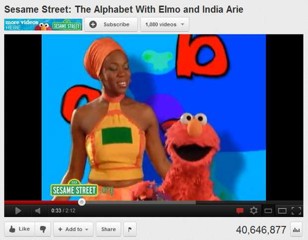 Sesame Street with India and Elmo
