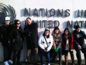 Youth Delegates in Geneva